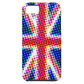 Funky Union Jack (British Flag) iPhone Case Tough iPhone 5 Case