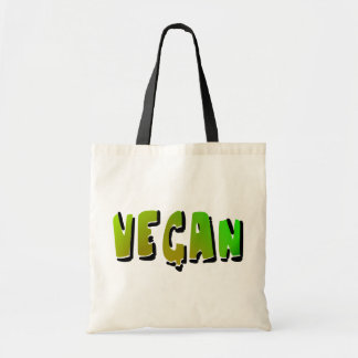 Funky Vegan With Shading Budget Tote Bag