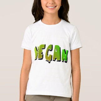 Funky Vegan With Shading T-Shirt