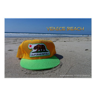 Funky Venice Beach Poster! Poster