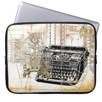 Funky vintage Retro Type writer Electronic Bag Laptop Sleeve