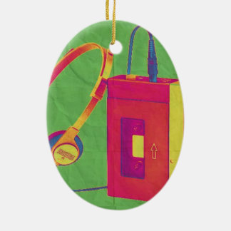 Funky Walkman 2 Christmas Ornament