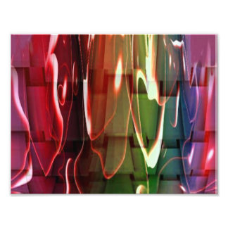 Funky Water Abstract Photo Art