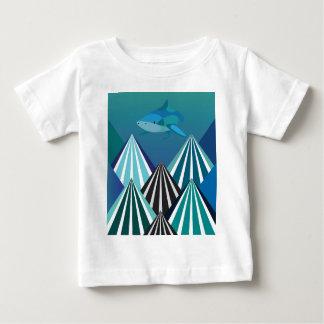 Funky Water Mountains.jpg Baby T-Shirt