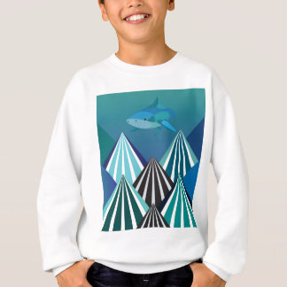 Funky Water Mountains.jpg Sweatshirt