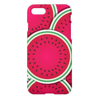 Funky watermelon slices iPhone 7 case