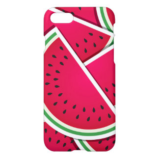 Funky watermelon wedges iPhone 8/7 case