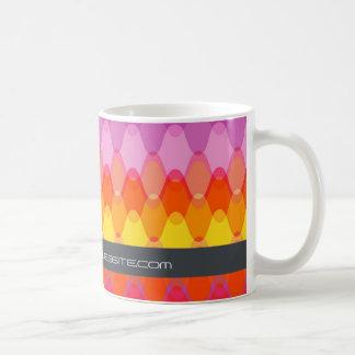 Funky Waves | 01 * Modern Designer Custom Gift Mug