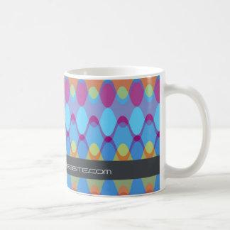 Funky Waves | 02 * Modern Designer Custom Gift Mug