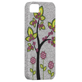 Funky Whimsical Artsy Modern Vector iPhone 5 Case