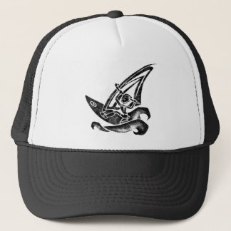 Funky Windsurfer Trucker Hat