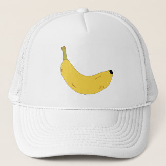 FUNKY YELLOW BANANA Trucker Hat