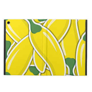 Funky yellow chilli peppers iPad air cover