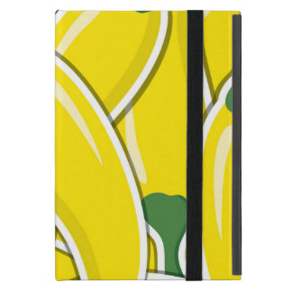 Funky yellow chilli peppers iPad mini cover