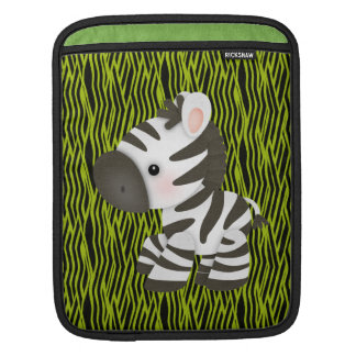 Funky Zebra & Animal Print iPad & Laptop Sleeve iPad Sleeves