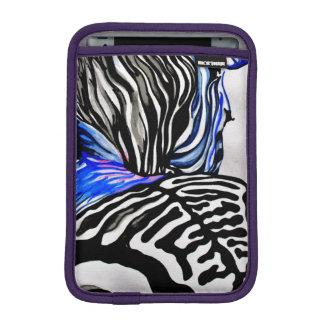 Funky Zebra (Kimberly Turnbull Art) iPad Mini Sleeve