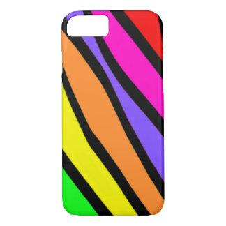 Funky Zebra Stripes iPhone 7 Case