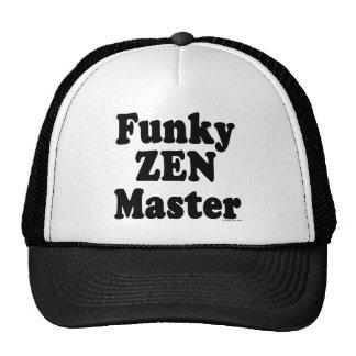 Funky Zen Master Mesh Hats
