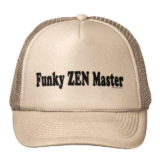 Funky Zen Master Mesh Hat
