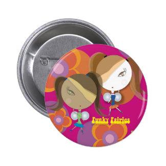 FunkyFairies 6 Cm Round Badge