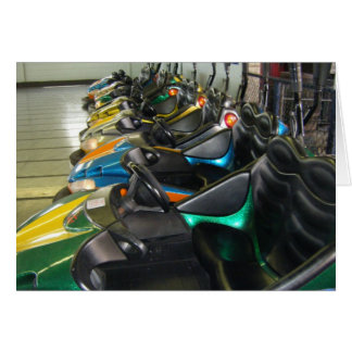 Funland Bumper Cars Rehoboth Beach Photo Card