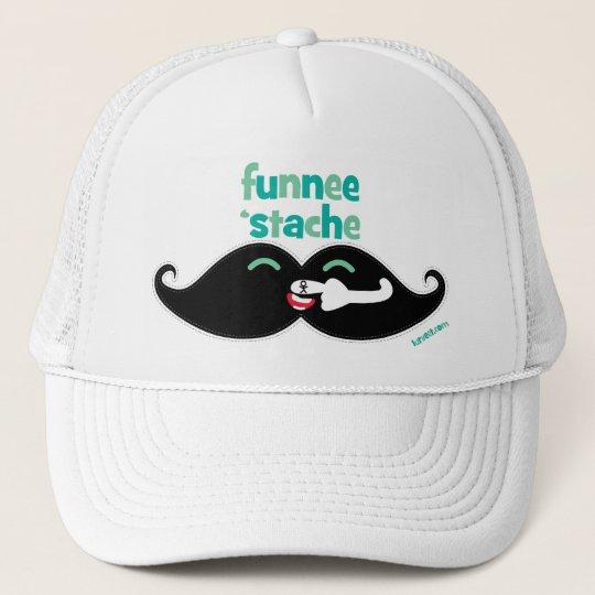 Funnee Stache Trucker Hat