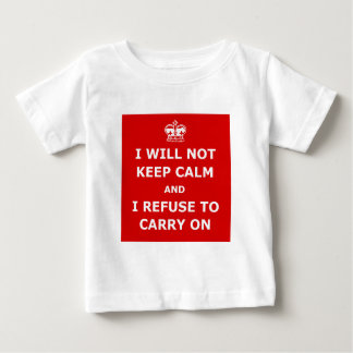 Funnt keep calm and carry on t-shirts