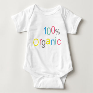Funny! 100% Organic Baby Bodysuit