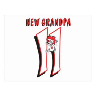 Funny 2011 New Grandpa Postcard