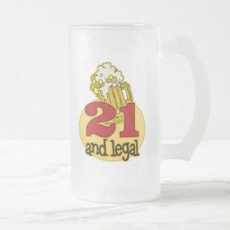Funny 21st Birthday Gift Mug