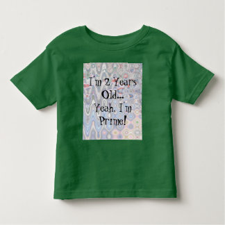 Funny 2nd Birthday T-Shirt for Toddlers - Prime