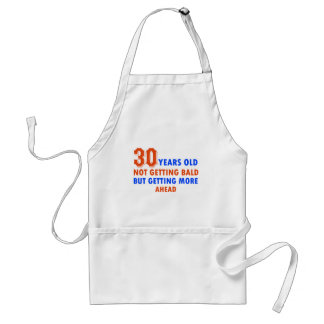 funny 30 years old birthday design apron