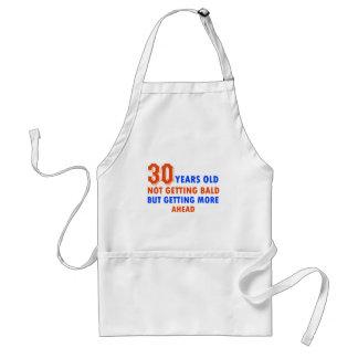 funny 30 years old birthday design standard apron