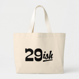 Funny 30th Birthday Large Tote Bag
