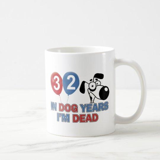 Funny 32 year old designs coffee mug