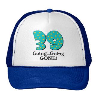 Funny 39th Birthday Gift Mesh Hat