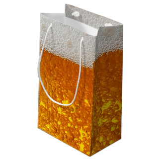 Funny 3-d Beer bubble bag