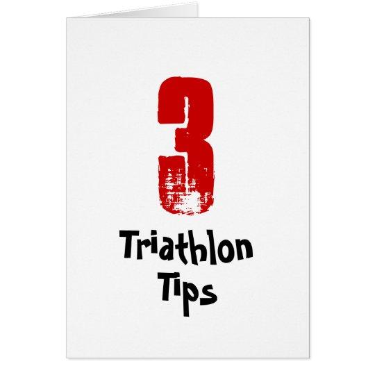 Funny 3 Triathlon Tips - Good Luck Triathlete