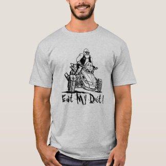 funny 3 wheeler old man biker, eat my dust shirt