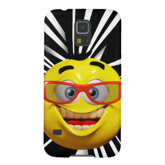Funny 3d emoticon galaxy s5 cover