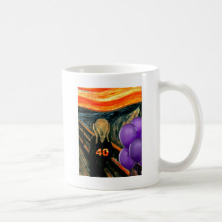 Funny 40th Birthday Coffee Mug