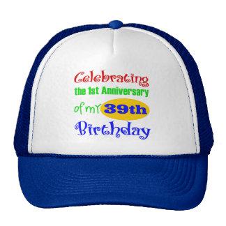 Funny 40th Birthday Gift Mesh Hat