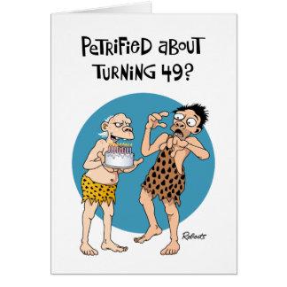 Funny 49th Birthday Card