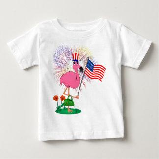 Funny 4th of July Flamingo Shirt