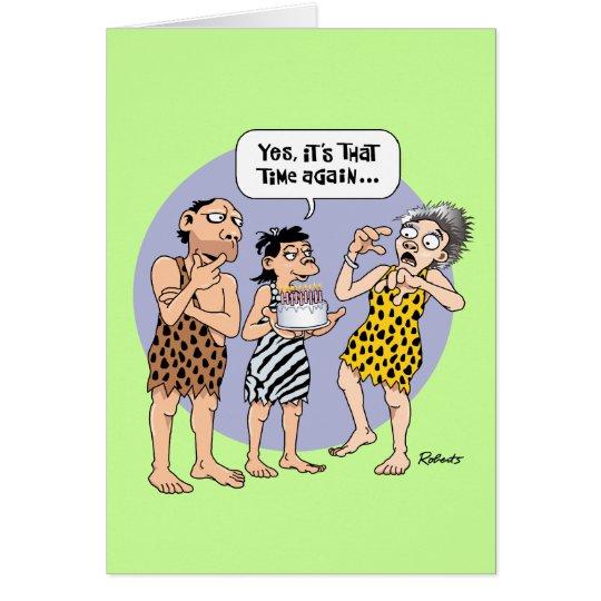 Funny 50-something Female Birthday Card