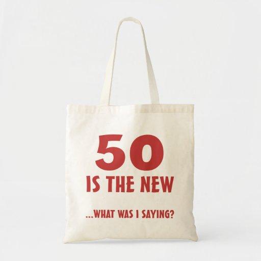 Funny 50th Birthday Gag Gifts Bag