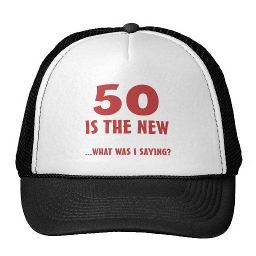 Funny 50th Birthday Gag Gifts Cap