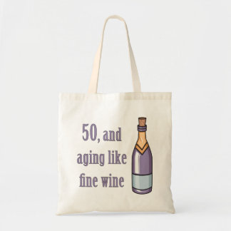 Funny 50th Birthday Gift Ideas Tote Bag