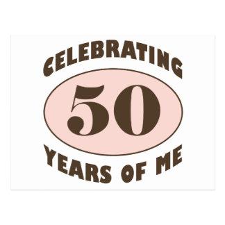 Funny 50th Birthday Gifts Postcard