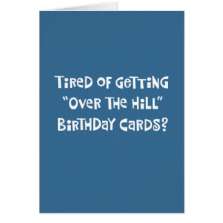 Funny 50th Birthday Greeting Card